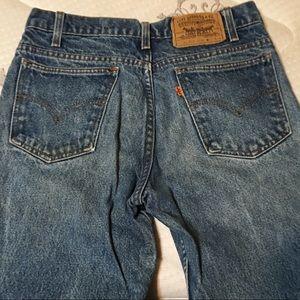Levi's vintage 517-0217 orange tab jeans